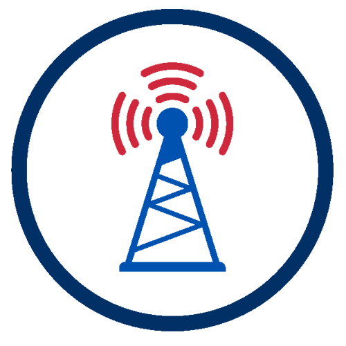 icona antenne sat e tv