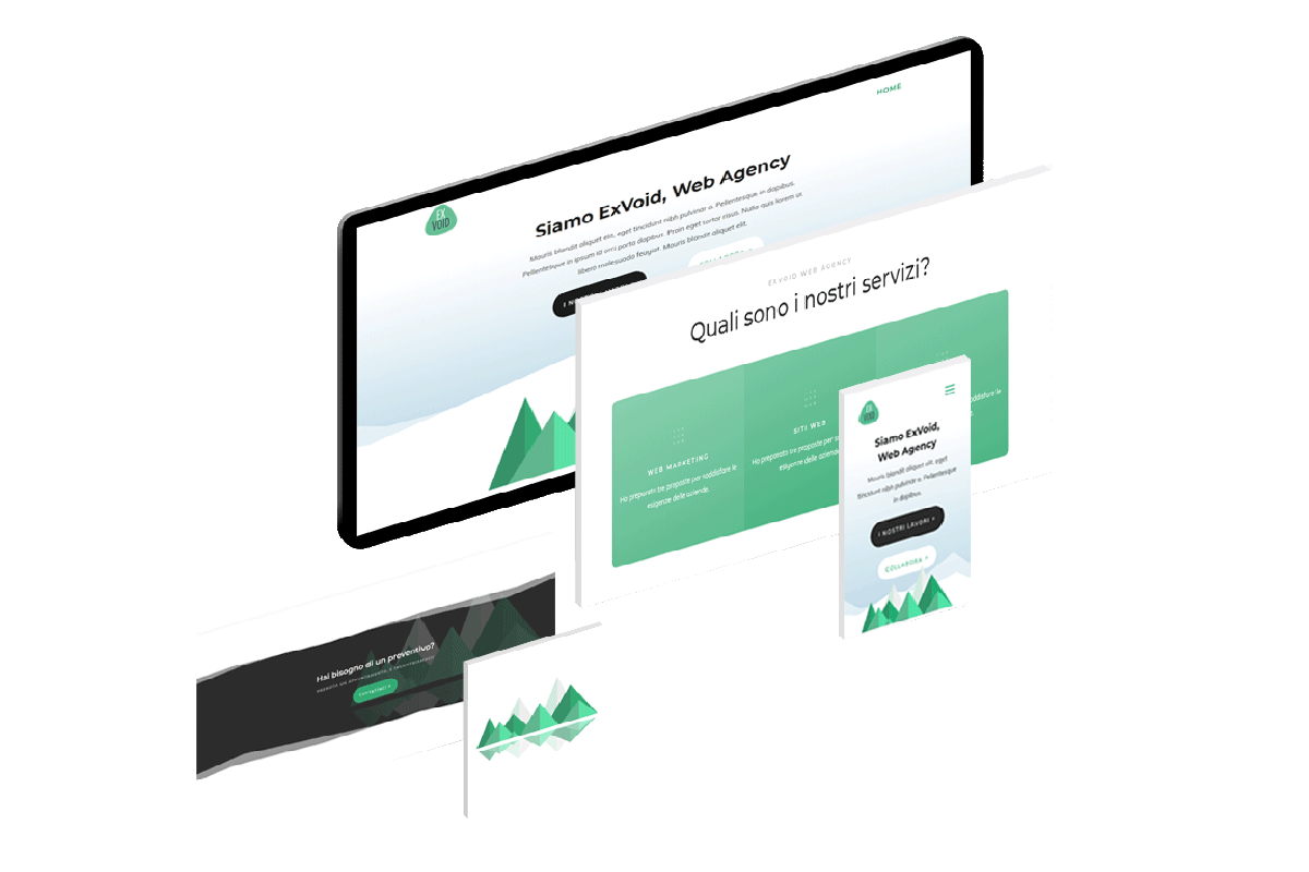 web marketing siti web trento exvoid web agency